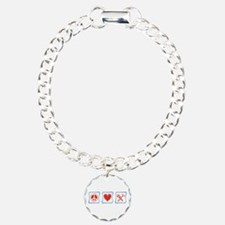Peace, Love and Construction Bracelet