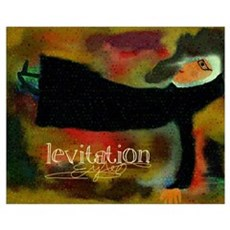Funny Catholic Levitation Nun Wall Art Poster