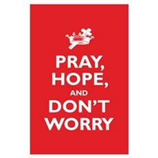 Padre Pio: Pray, Hope... Wall Art Poster