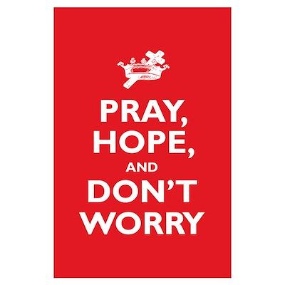Padre Pio: Pray, Hope... Wall Art Poster