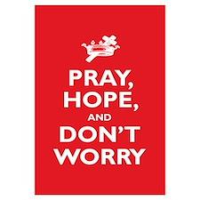 Padre Pio: Pray, Hope... Wall Art