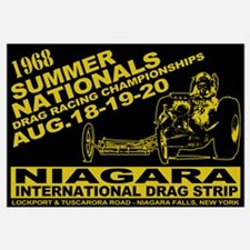 Niagara Drag Strip Wall Art