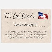 Amendment II Wall Art
