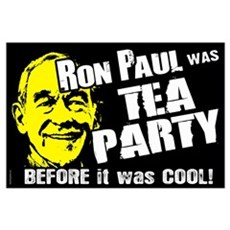 Tea Party before Cool Wall Art Poster