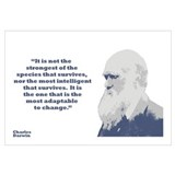 Darwin Framed Prints