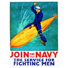 Torpedo Lad Wall Art Poster