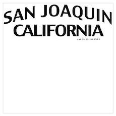 San Joaquin Wall Art Poster