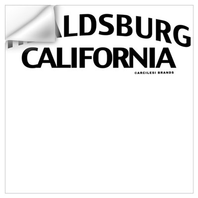 Healdsburg Wall Art Wall Decal