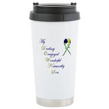 Downs Syndrome Son Travel Mug