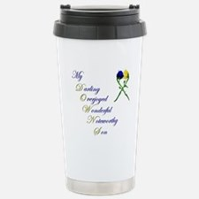 Downs Syndrome Son Travel Mug