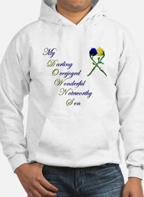 Downs Syndrome Son Hoodie