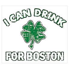 Funny Irish drinking design Wall Art Poster
