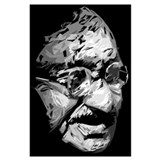 Ghandi Wrapped Canvas Art