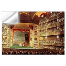 Drury Lane Theatre 1809 Wall Art Wall Decal