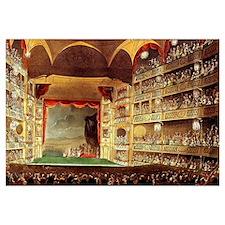 Drury Lane Theatre 1809 Wall Art