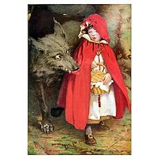 Little Red Riding Hood Wall Art Poster
