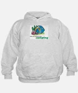 Never Too Young to Start Camping Hoodie