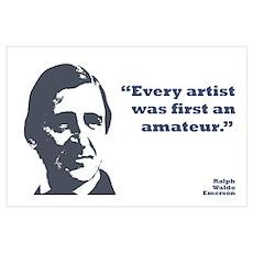 Emerson - Amateur Wall Art Poster