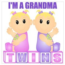 I'm A Grandma (BGG:blk) Wall Art Poster
