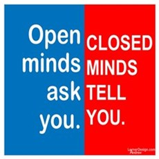 Open Mind Wall Art Poster
