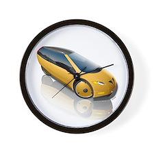 Velomobile Concept Wall Clock