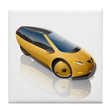 Velomobile Concept Tile Coaster