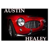 Austin healey Wrapped Canvas Art