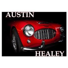 Austin Healey Wall Art Poster