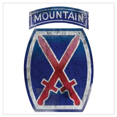 10th Mountain Division - Clim Wall Art Canvas Art