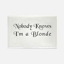The Closet Blonde's Rectangle Magnet