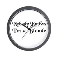 The Closet Blonde's Wall Clock