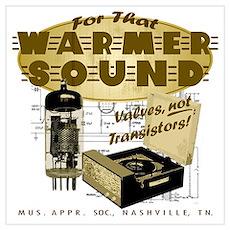 Valve Amplifier Wall Art Poster