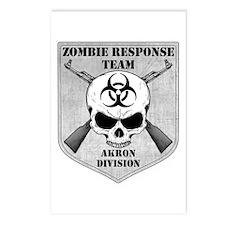 Zombie Response Team: Akron Division Postcards (Pa