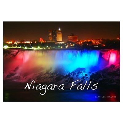Niagara Falls Wall Art Framed Print