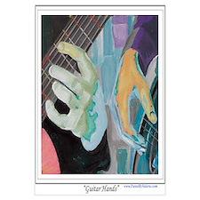 Guitar Hands Wall Art