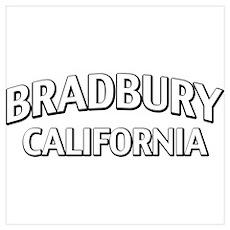Bradbury California Wall Art Poster