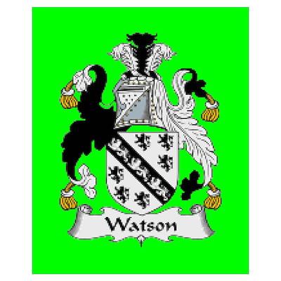 Clan Watson (ireland) Wall Art Poster