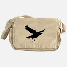 Funny Crow Messenger Bag
