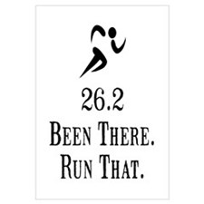 26.2 Been There Run That Wall Art