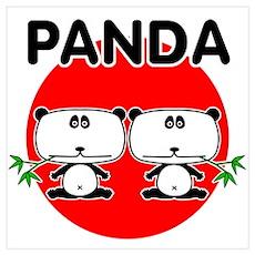 Panda 2 Wall Art Poster