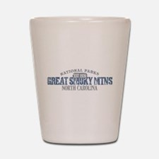 Great Smoky Mountains NC Shot Glass