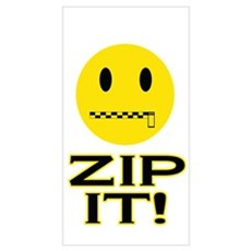 Zip It! Wall Art Poster