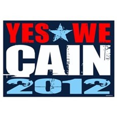Yes We Cain Wall Art Canvas Art