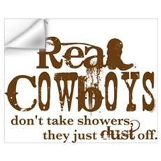 Real Cowboys Wall Art Wall Decal