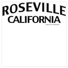 Roseville Wall Art Poster