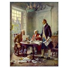 Founding Fathers Wall Art Framed Print