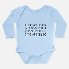 I Just Did 9 Months Long Sleeve Infant Bodysuit