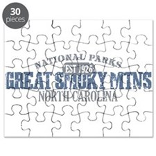 Great Smoky Mountains NC Puzzle