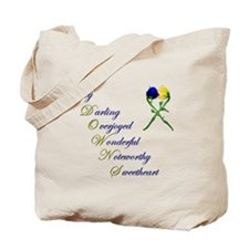 Downs Syndrome Sweetheart Tote Bag