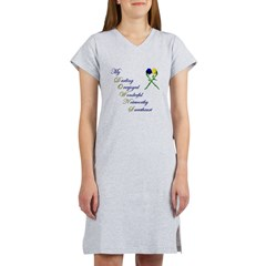Downs Syndrome Sweetheart Women's Nightshirt